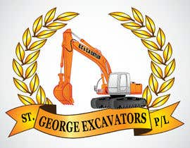 nº 40 pour Graphic Design for St George Excavators Pty Ltd par fatamorgana