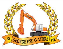 nº 41 pour Graphic Design for St George Excavators Pty Ltd par fatamorgana