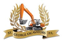 Graphic Design for St George Excavators Pty Ltd için Graphic Design7 No.lu Yarışma Girdisi