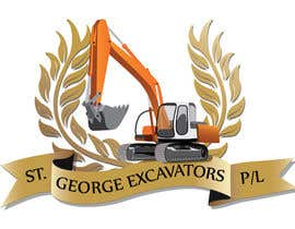 nº 7 pour Graphic Design for St George Excavators Pty Ltd par pixide
