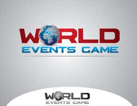 nIDEAgfx tarafından Design a Logo for World Events Game için no 50