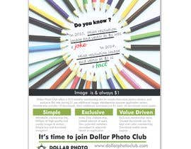 #27 untuk Design a Print Advertisement for Dollar Photo Club oleh ArtCulturZ