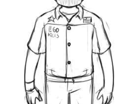 Nro 2 kilpailuun Create a Character Design based on my boss käyttäjältä gilvacir