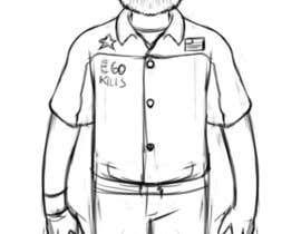 Nro 7 kilpailuun Create a Character Design based on my boss käyttäjältä gilvacir