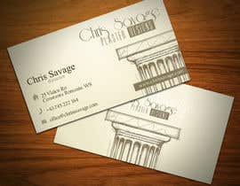 #46 untuk Business Card Design for Chris Savage Plaster Designs oleh StrujacAlexandru