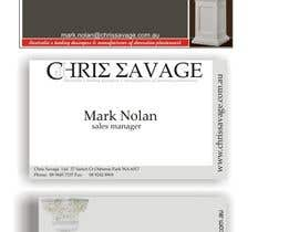 #45 para Business Card Design for Chris Savage Plaster Designs por boni15