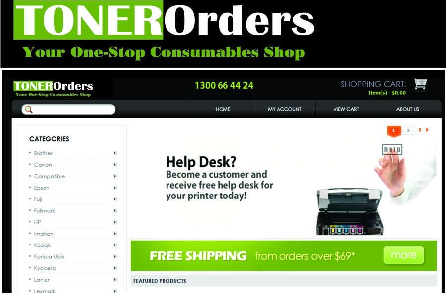 Participación en el concurso Nro.56 para Logo Design for tonerorders.com.au