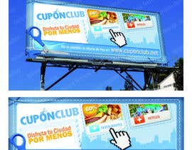 #2 for Billboard Design for Cupon Club af felipox