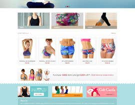 #135 for Design a Website Mockup for Elite Yoga Gear af Pavithranmm
