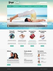 #138 for Design a Website Mockup for Elite Yoga Gear by infowaysl