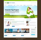 Contest Entry #114 for Design a Website Mockup for Elite Yoga Gear