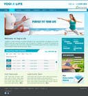 Contest Entry #123 for Design a Website Mockup for Elite Yoga Gear