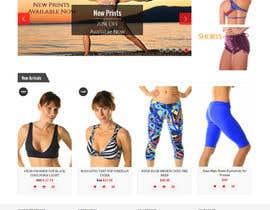 #79 cho Design a Website Mockup for Elite Yoga Gear bởi dheerajrao