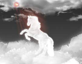 #15 para Design a picture of clouds in the shape of a horse por seguro