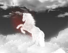 #26 para Design a picture of clouds in the shape of a horse por seguro
