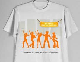Nro 4 kilpailuun Design a T-Shirt (class reunion) käyttäjältä karenli9
