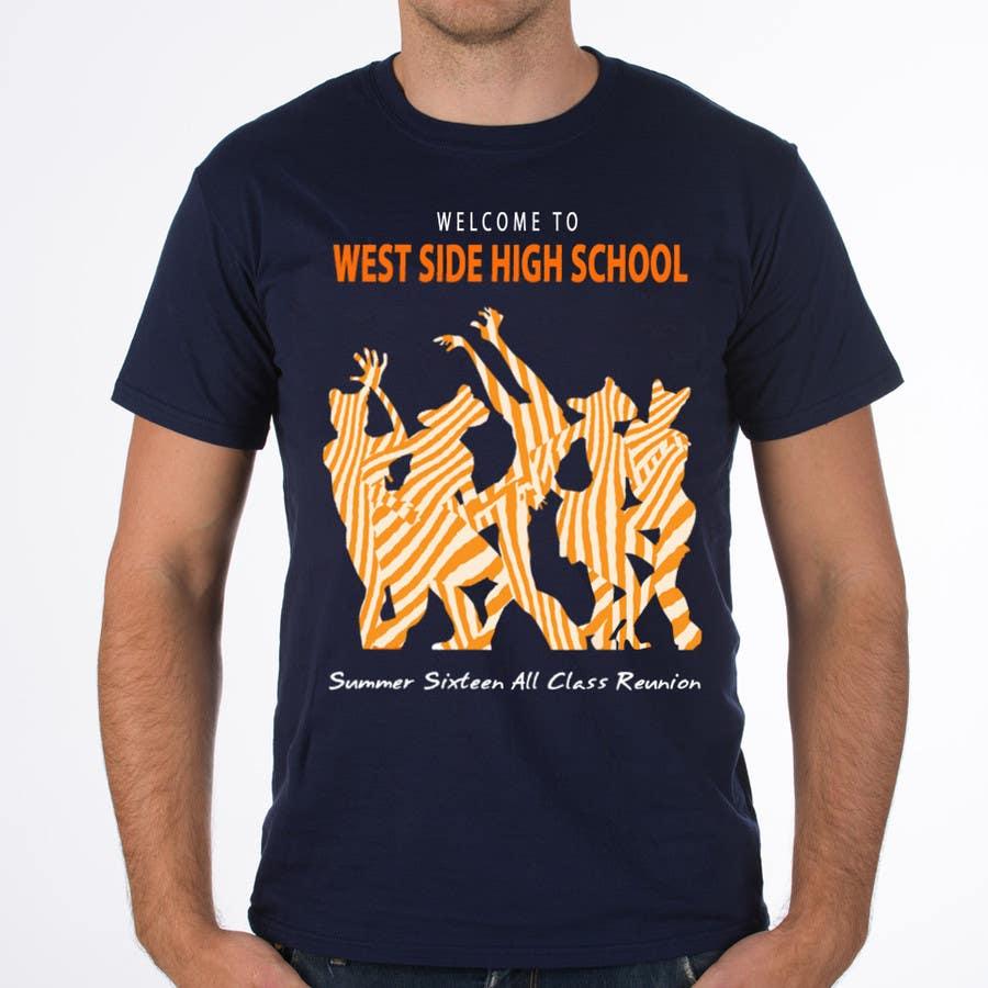 df4c4077de36a Entry #7 by phthai for Design a T-Shirt (class reunion) | Freelancer
