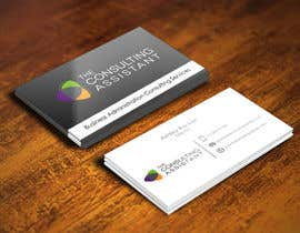 pointlesspixels tarafından Design some Business Cards for The Consulting Assistant Pty Ltd için no 86