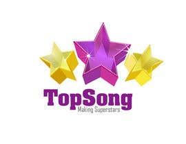#36 for Re-Design a Logo for TOP SONG MUSICAL REALITY SHOW by iamnaab
