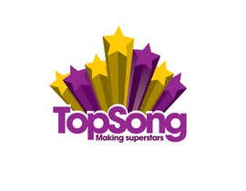 #10 for Re-Design a Logo for TOP SONG MUSICAL REALITY SHOW by NicolasFragnito