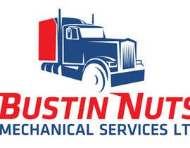 #55 for Design a Logo for Bustin Nuts Mechanical Services Ltd. af pradeeppatil802