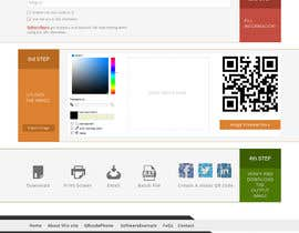 #54 untuk Design a Website User Interface for QRcode generation company oleh manishb1