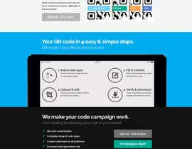 nº 33 pour Design a Website User Interface for QRcode generation company par mbr2