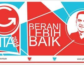 #28 for Design a Logo for an Indonesian President Candidate af cip4rf