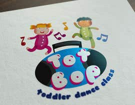 kkyratzidou tarafından Logo design for 'Tot Bop'; dance classes for children aged 2-5. için no 9