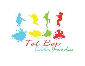 BDesigns1110 tarafından Logo design for 'Tot Bop'; dance classes for children aged 2-5. için no 1