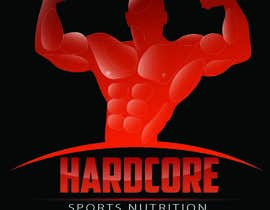 #21 para Design a Logo for Hardcore Sports Nutrition por itsameenuddin