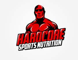 #48 para Design a Logo for Hardcore Sports Nutrition por nixRa