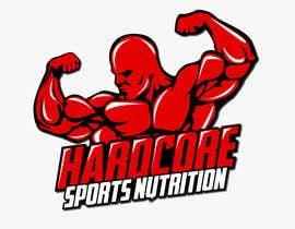 #63 para Design a Logo for Hardcore Sports Nutrition por nixRa