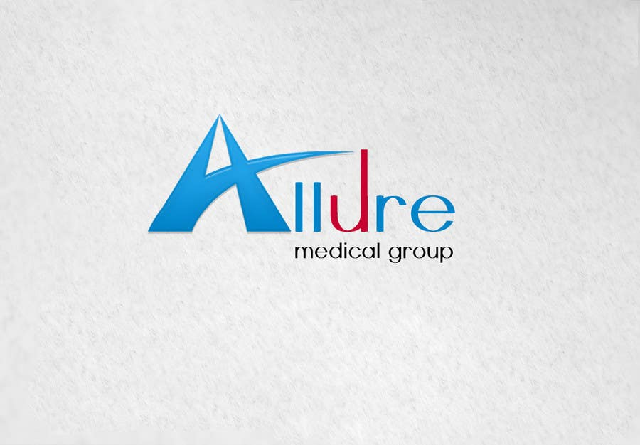 Kilpailutyö #66 kilpailussa New corporate logo for Allure Medical Group