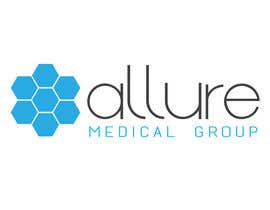 #123 para New corporate logo for Allure Medical Group por poonkaz