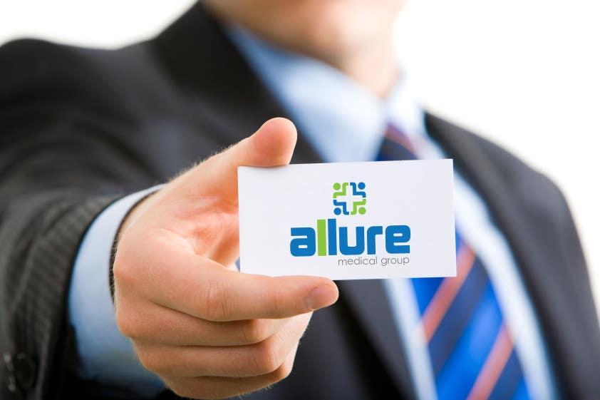 Kilpailutyö #166 kilpailussa New corporate logo for Allure Medical Group