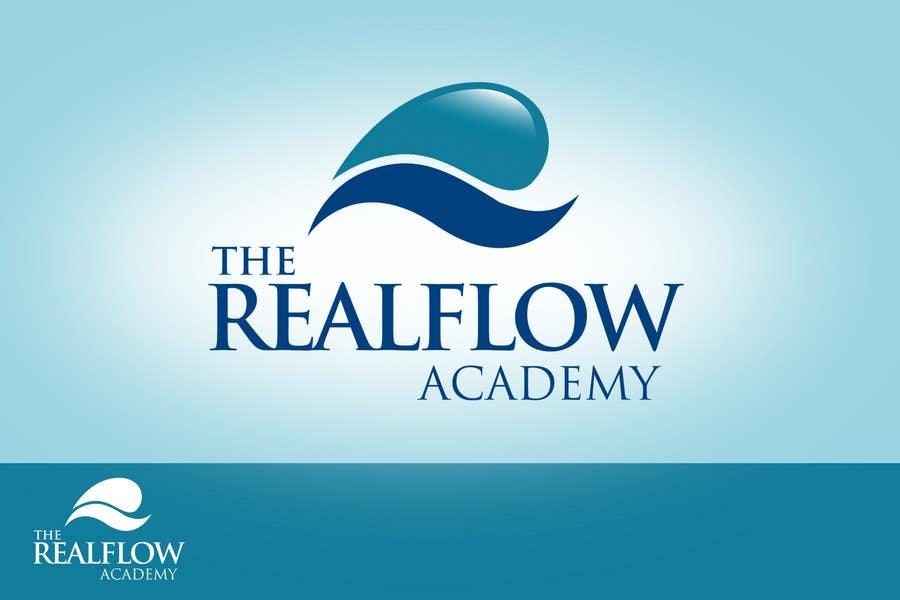 Kilpailutyö #315 kilpailussa Logo Design for The Realflow Academy