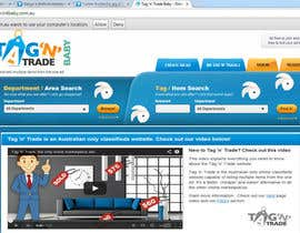 #3 for Design a Website Homepage for www.tntbaby.com.au af SureN1982