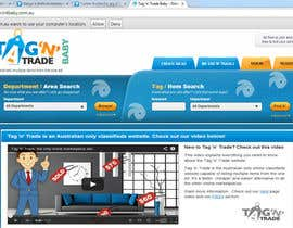 #4 for Design a Website Homepage for www.tntbaby.com.au af SureN1982
