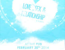 sammi67 tarafından Make a flyer for a love,sex,relationship panel için no 3