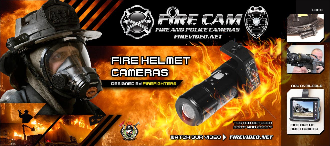 #59 for I need some Graphic Design for our company Fire Cam by enshano