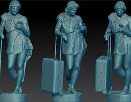 alexunderr tarafından 1 male and 1 female faceless 3D travel statue gift model için no 4