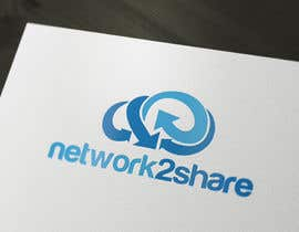 #42 for Design a Logo for Network2Share (cloud software product) by grafkd3zyn
