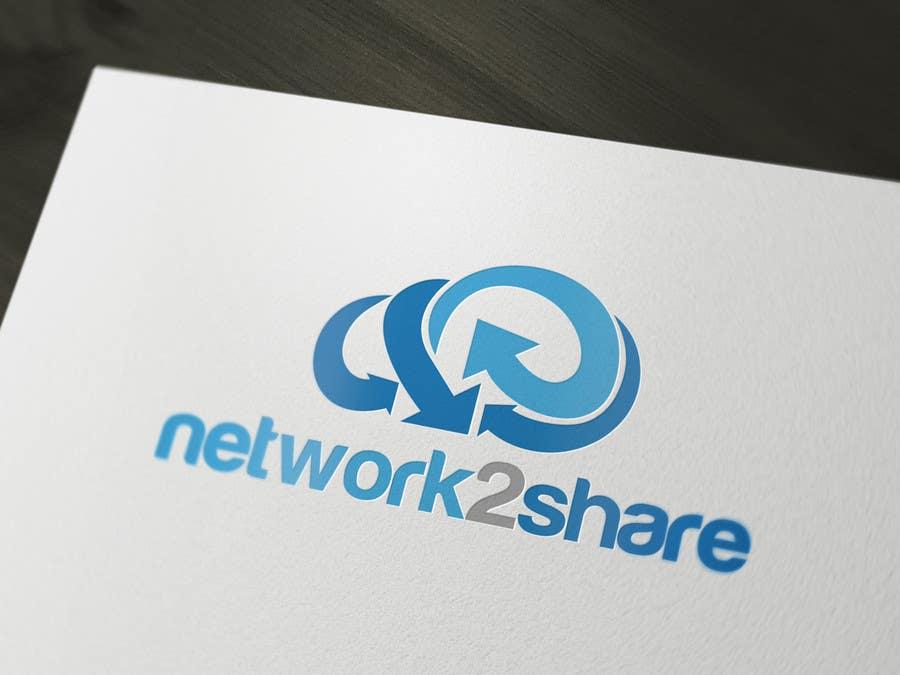Kilpailutyö #363 kilpailussa Design a Logo for Network2Share (cloud software product)