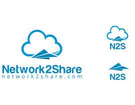 alexisbigcas11 tarafından Design a Logo for Network2Share (cloud software product) için no 305