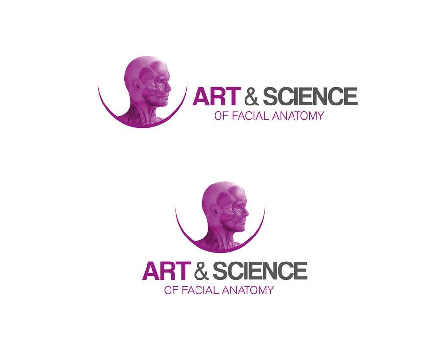 Entry #166 by davidgalban7 for LOGO for Face Anatomy Cross Section ...
