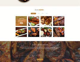 Nro 17 kilpailuun website design for an indian restaurant käyttäjältä SantoJames