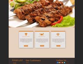 Nro 5 kilpailuun website design for an indian restaurant käyttäjältä emonbiswas