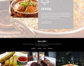 Nro 6 kilpailuun website design for an indian restaurant käyttäjältä nextdesign2007