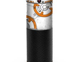 #11 for Create a BB8 or R2D2 type design to be used for a skin for Amazon Echo by AFilipenko